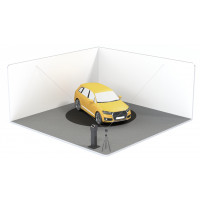 Car photography turntable   Basic Solution