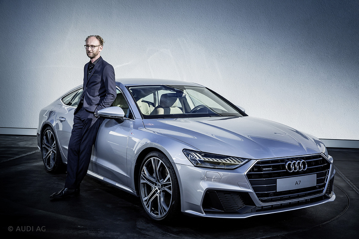 Marc Lichte (Audi's Head of Design)