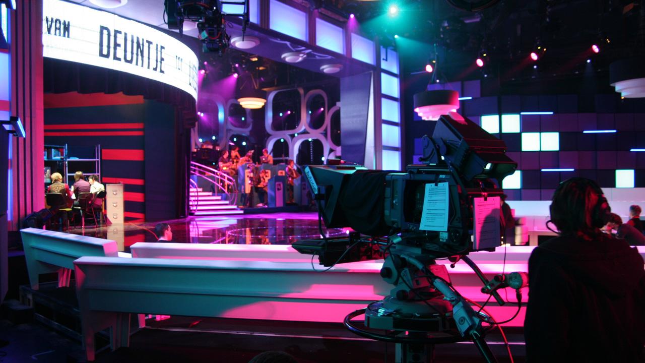 TV studio draaipodium
