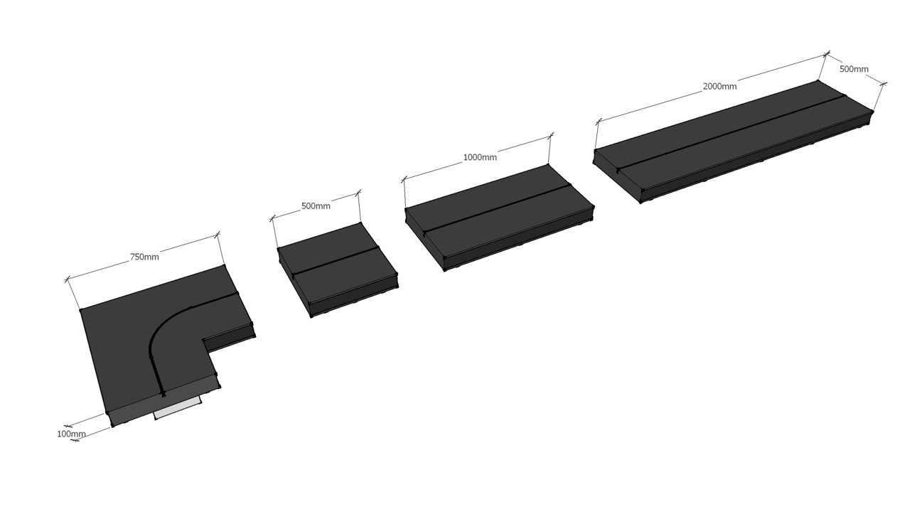 Giant Single Lane modules