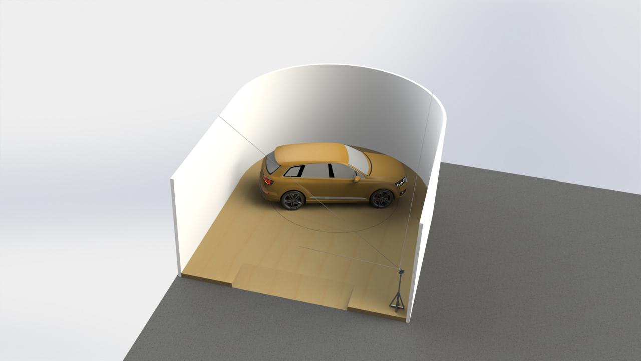 Photo corner concept U-shape